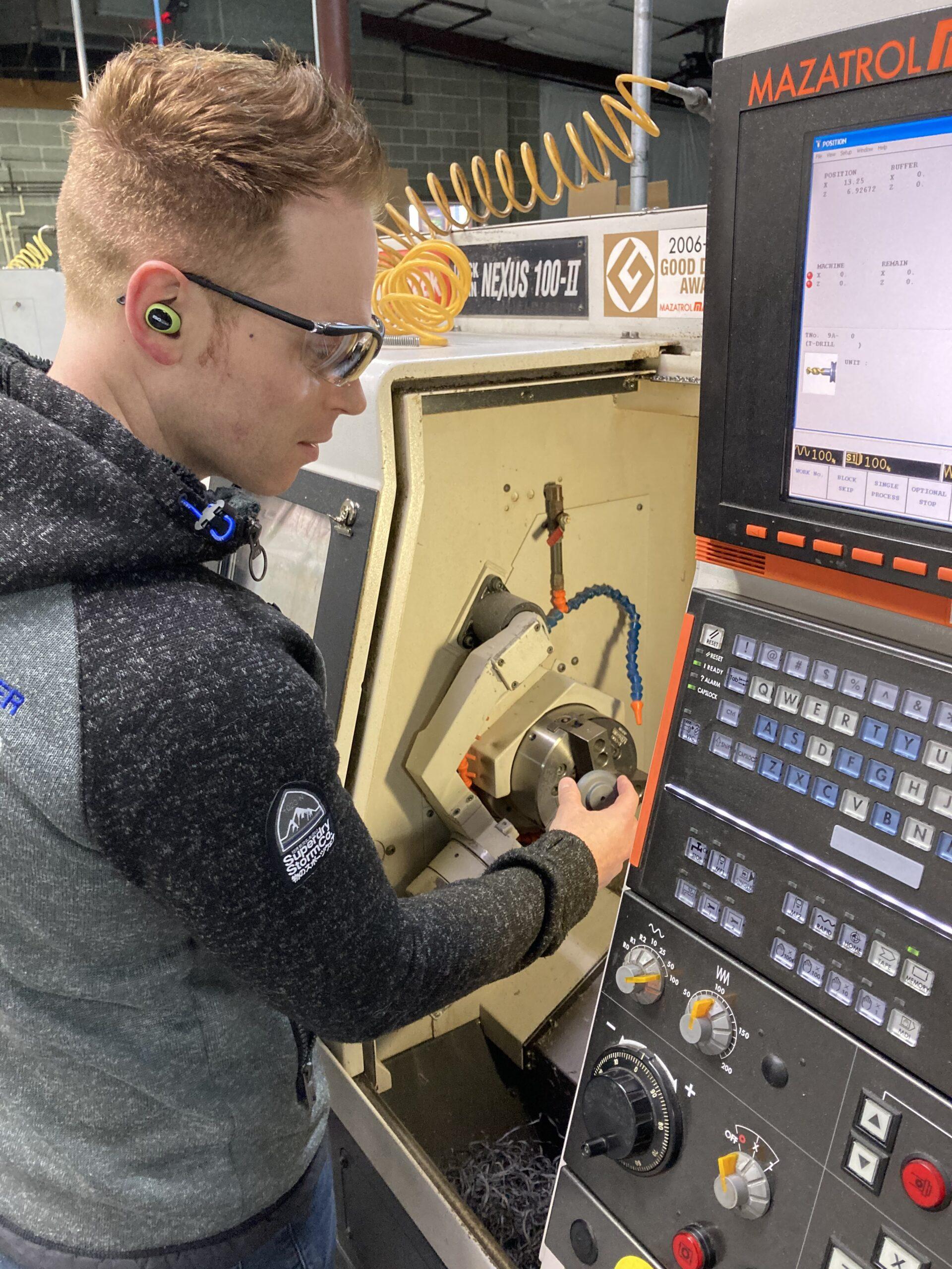 Plastics Machining operator